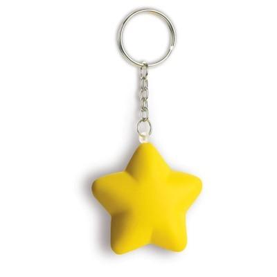 antystres personalizowany brelok gwiazda