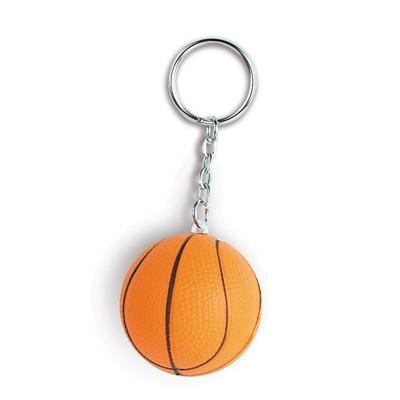 antystres personalizowany brelok piłka do koszykówki